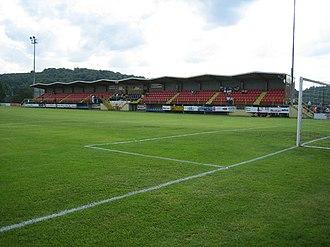 Stade Jos Nosbaum - Stade Jos Nosbaum's main stand.