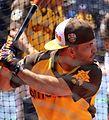 Jose Altuve takes batting practice on Gatorade All-Star Workout Day. (28044767634).jpg
