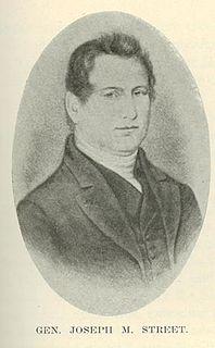 Joseph M. Street Iowa pioneer, trader and U.S. Indian Agent