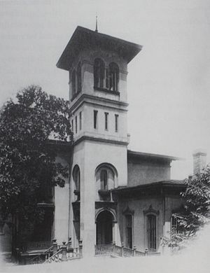 Winter Place - Joseph Winter's first home in Montgomery, designed by Samuel Sloan in 1851