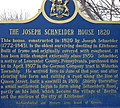Joseph Schneider House, Kitchener, Plaque.jpg
