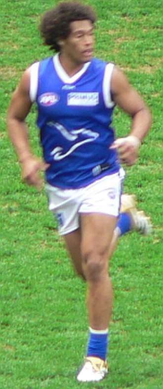 Josh Gibson (footballer) - Josh Gibson playing for North Melbourne in 2006.