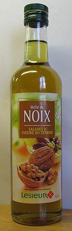 huile de noix cuisson ou pas
