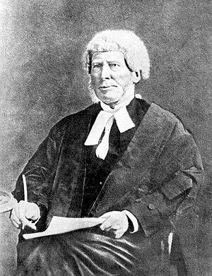 Henry Barnes Gresson - Justice Gresson in circa 1862