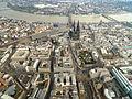 Köln Dom Altstadt Luftbild - cologne aerial (25352327405).jpg
