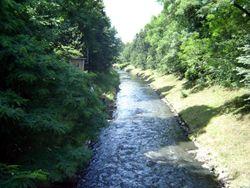Gliwice - Rzeka K�odnica.