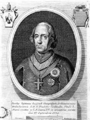 Carlo Gaetano Gaisruck - Image: K.C.Gaisruck