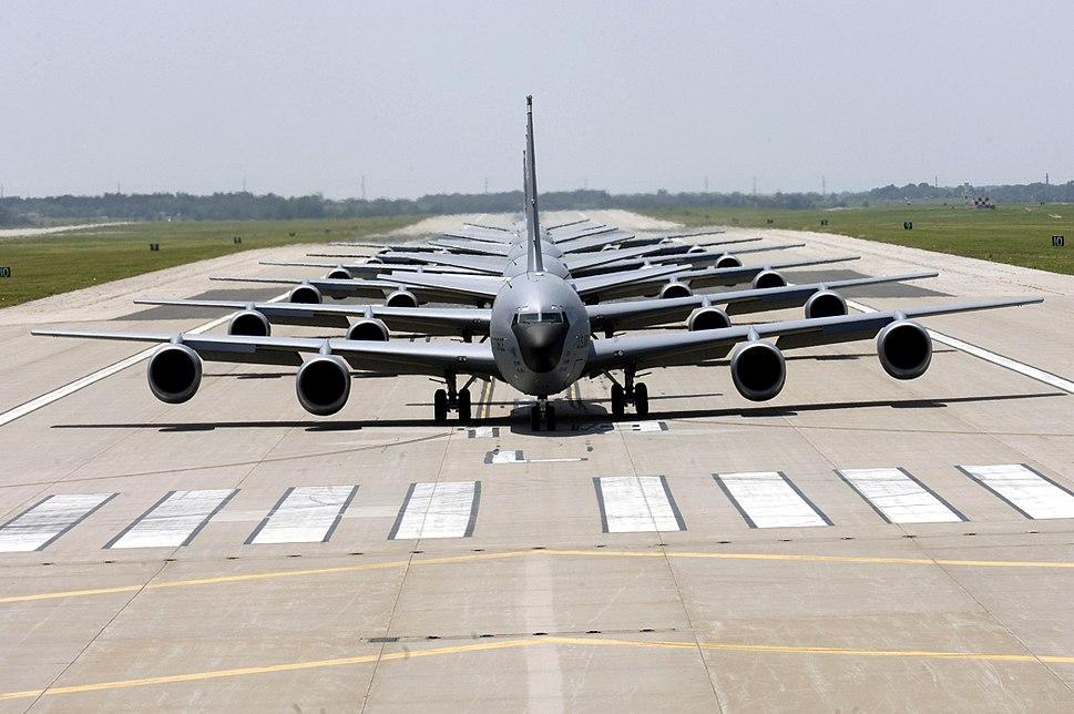 KC-135 Stratotanker Elephant Walk