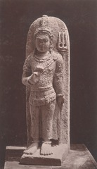 KITLV 87675 - Isidore van Kinsbergen - Sculpture of Shiva from the Dijeng plateau - Before 1900.tif