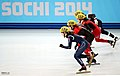 KOCIS Korea ShortTrack Ladies 3000m Gold Sochi 06 (12629823244).jpg