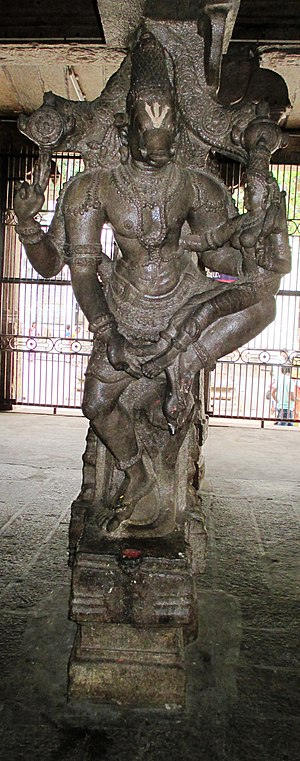Kallazhagar temple - Varaha Avatar, the boar form of Vishnu