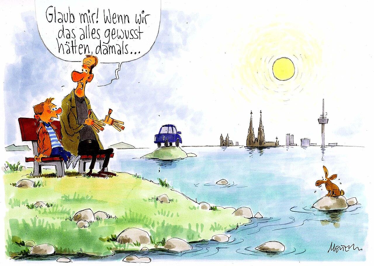 Karikatur von Gerhard Mester zum Thema Nicht Gewusst O11189.jpg