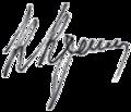 Karim Karimov signature.png