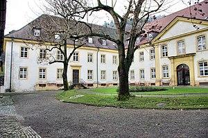Freiburg Charterhouse - Freiburg Charterhouse, inner courtyard