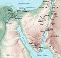 Karte Sinai Exodus.png