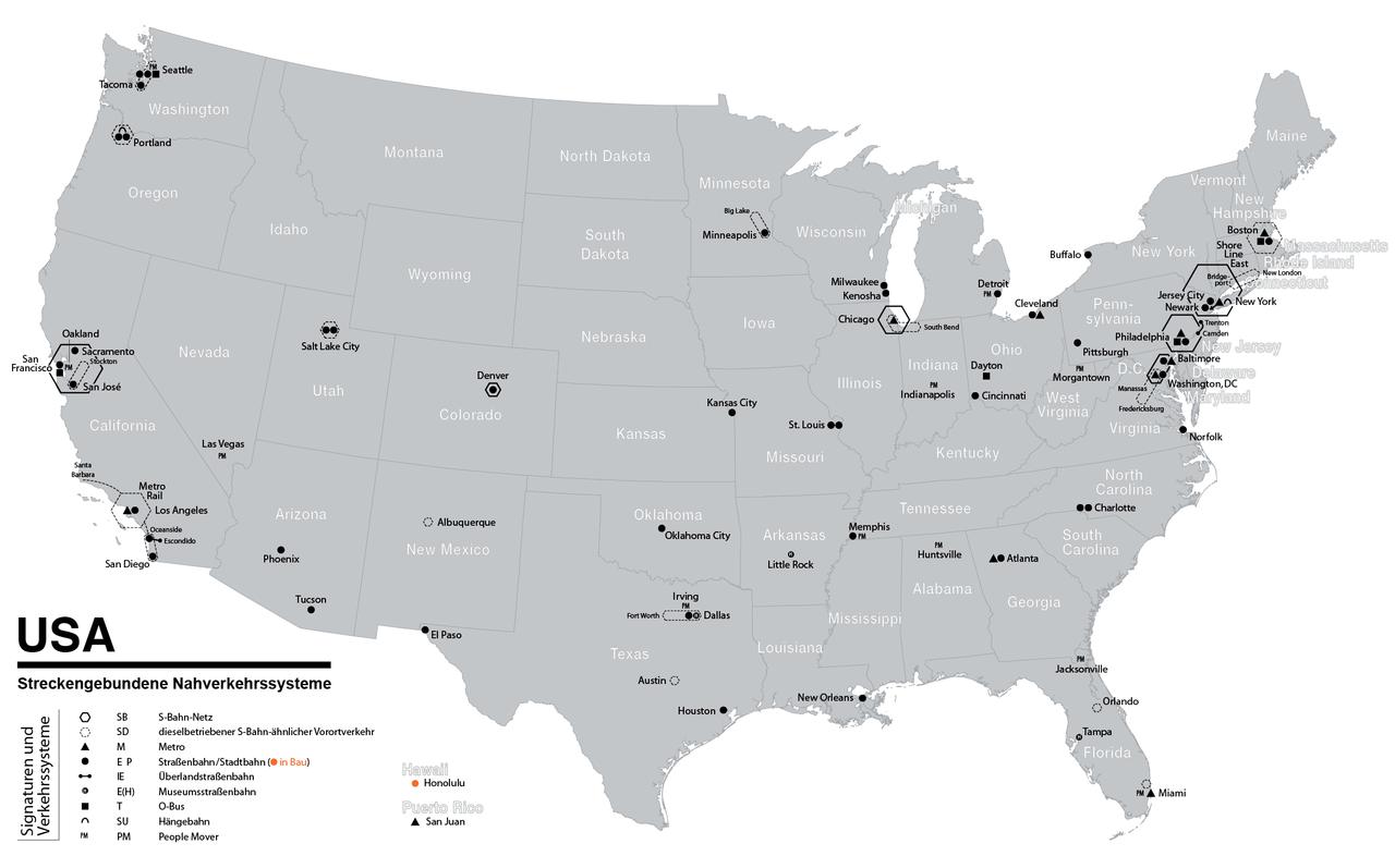 File Karte Der Opnv Systeme In Den Usa Png Wikimedia Commons