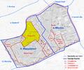 Karte von Margareten, ehem. Vorstadt von Wien und dessen Lage in den heutigen Bezirken.png