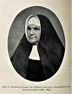 Maria Katharina Kasper German nun and blessed of Catholic church