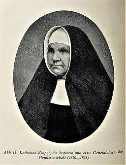 Katharina Kasper (1820 - 1898)
