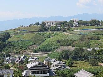 Japanese wine - Vineyards in Kōshū, Yamanashi, Japan