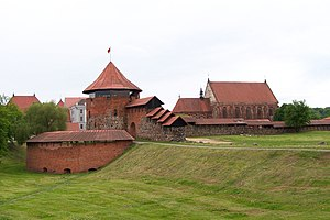 Grand Duchy of Lithuania - The ruins of Kaunas Castle from the mid-14th century were restored in the late 20th century