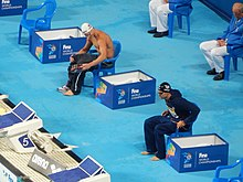 Kazan 2015 - Morozov and Ervin 50m freestyle swim-off.jpg