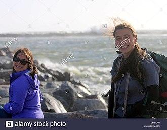 Alamy - Image: Kendra Chan and Karen Sinclair, watermarked by Alamy, Alamy ID M9YA7W