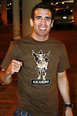Kenny Florian - Image: Kenny Florian wearing Ranger Up Geardo shirt