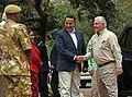 Kenyan Tourism and Wildlife Cabinet Secretary Balala Welcomes Secretary Tillerson to the Kenya Wildlife Service Headquarters (40039199714).jpg