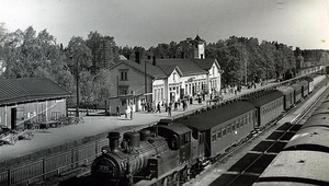 Kerava train station 1950s.png