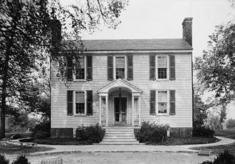 Powhatan County, Virginia - Keswick, main house, Powhatan County, Historic American Buildings Survey