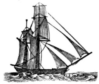 Ketch - Square-rigged ketch