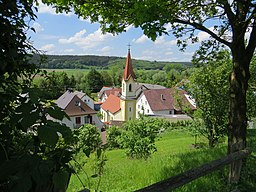 Kettershausen Bebenhausen Kirche v SO