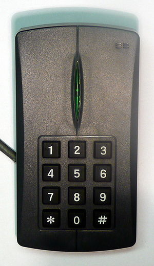 Card reader - Image: Key Pad Reader