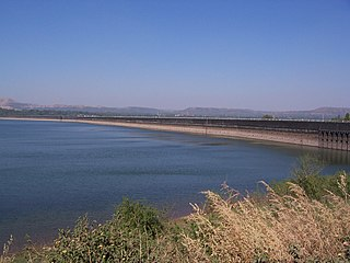 Khadakwasla Dam dam in India