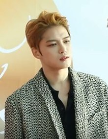 Kim Jaejoong at the Golden Disc Awards, 2017 (cropped).jpg