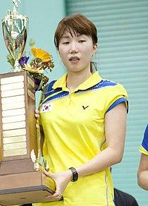 Kim Min-jung 2011 US Open Badminton 1.jpg