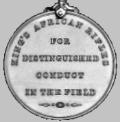King's African Rifles Distinguished Conduct Medal