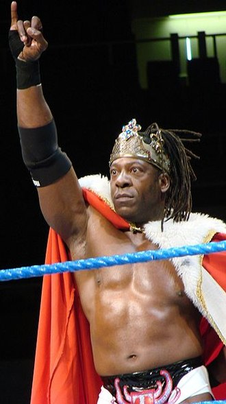 Booker T (wrestler) - King Booker's signature pose