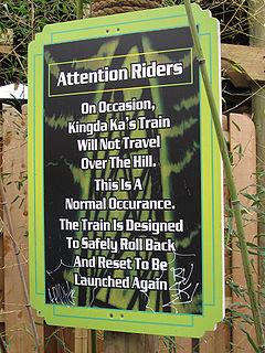 Rollback (roller coaster)