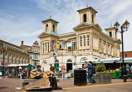 Il mercato di Kingston upon Thames