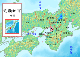 地方 地図 近畿