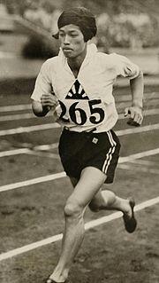 Kinue Hitomi Japanese athlete