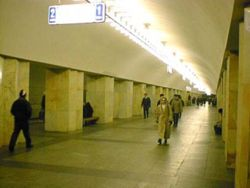 Image illustrative de l'article Kitaï-gorod (métro de Moscou)