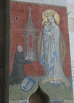 Kloster Bebenhausen Bernhard von Clairvaux und Maria