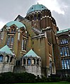 Koekelberg Basilique Nationale Sacré-Coeur Querschiff 1.jpg