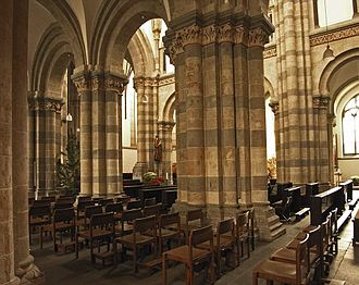 St. Andrew's Church, Cologne - Interior view