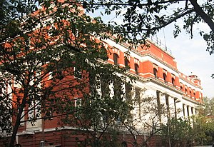 Kolkata Police Force - Kolkata Police Headquarters at 18, Lalbazar Street, Kolkata