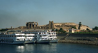 Kom Ombo Place in Aswan Governorate, Egypt