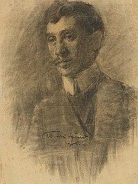 Konštantín Kövári-Kačmarik - Self-portrait SVK VSG.K 1253.jpg